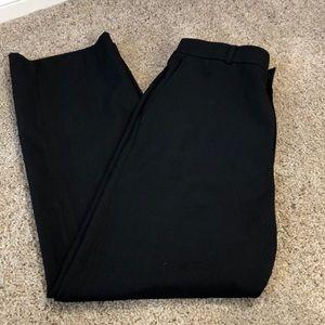 David Taylor men's black dress pants size 36x30